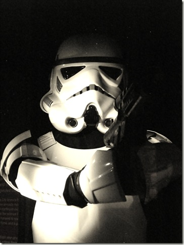 Storm Trooper - Old Photo