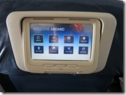 Delta In-flight Entertainment System