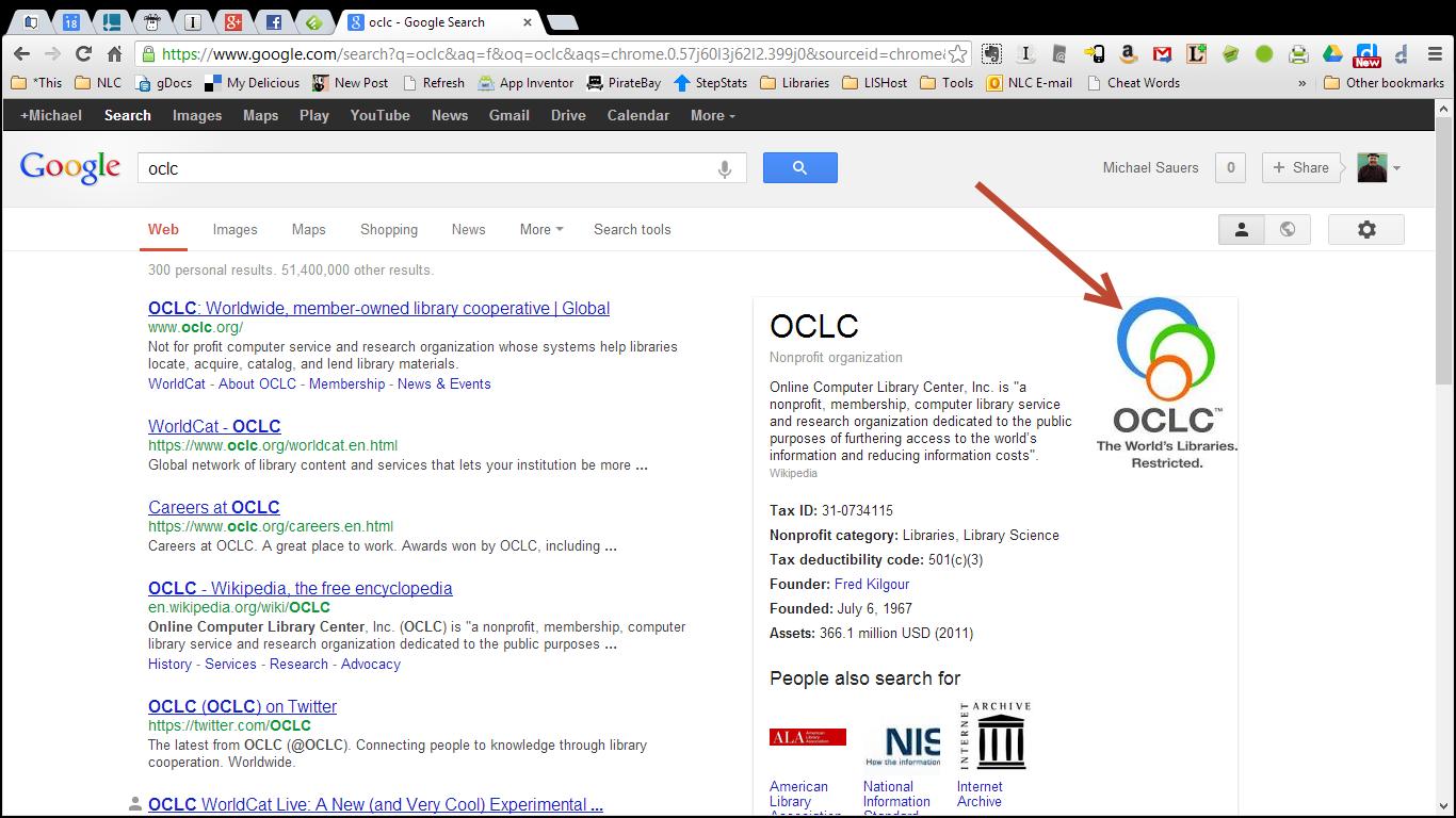 Google OCLC Logo