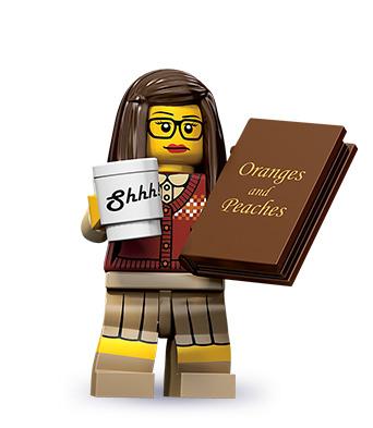 Librarian minifig