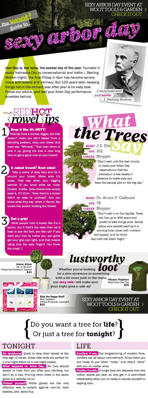 Sexy Arbor Day