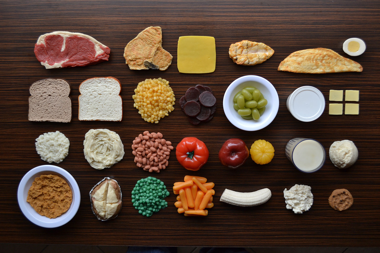 Food Organized Neatly