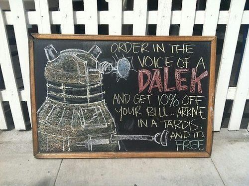 Dalek Discount