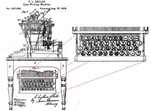 sholes-qwerty-patent