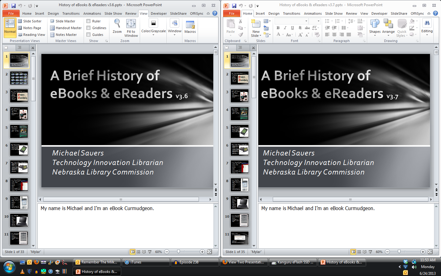 PPT Side-by-side