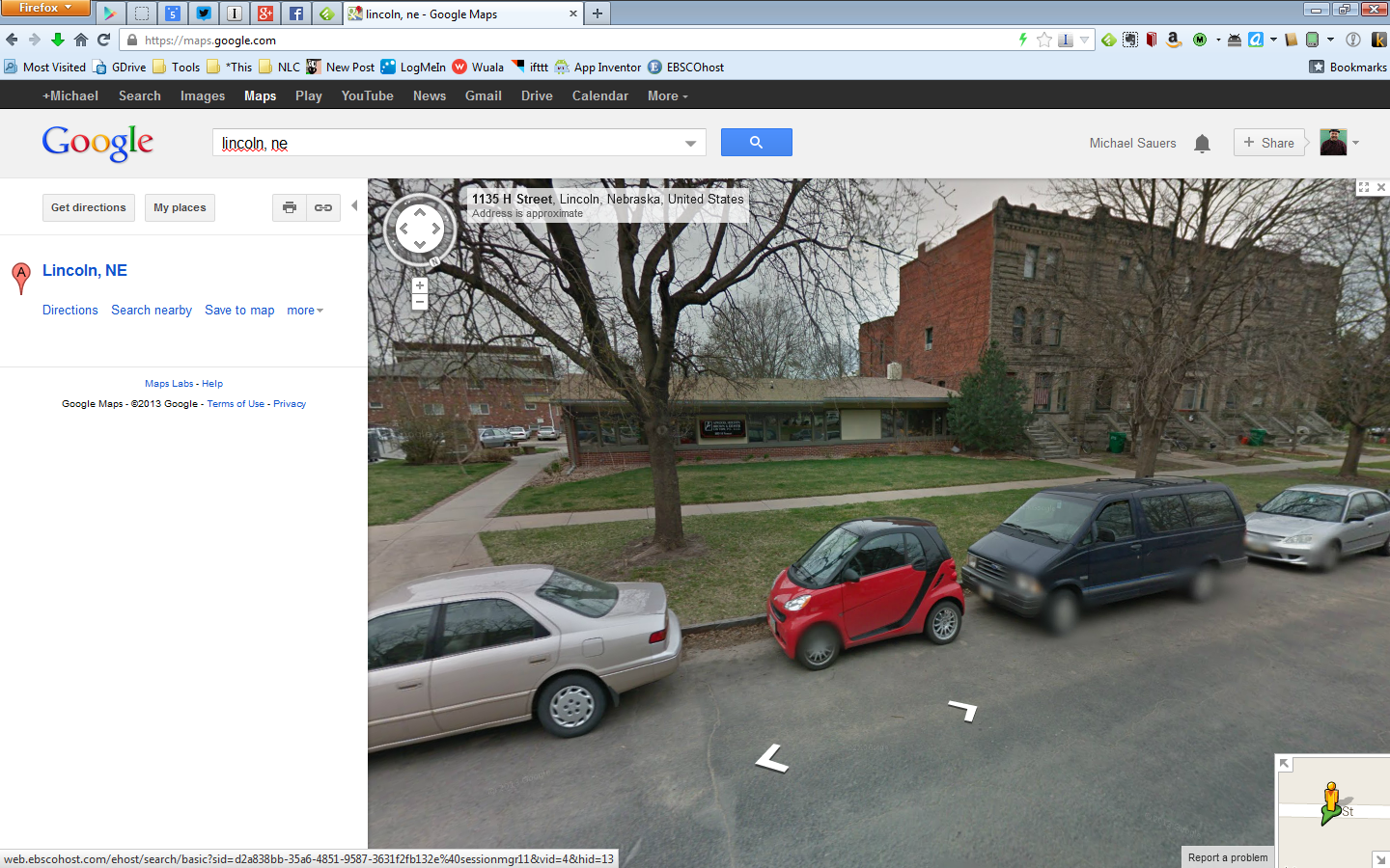 My Smart on Google Street View