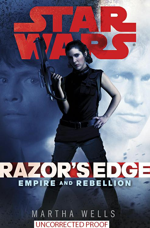 Star Wars Razor's Edge eARC