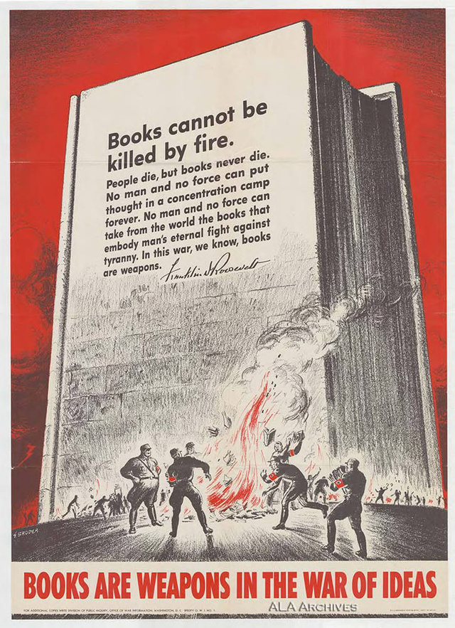 Books are weapons in the war of ideas
