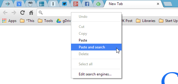 Paste & Search