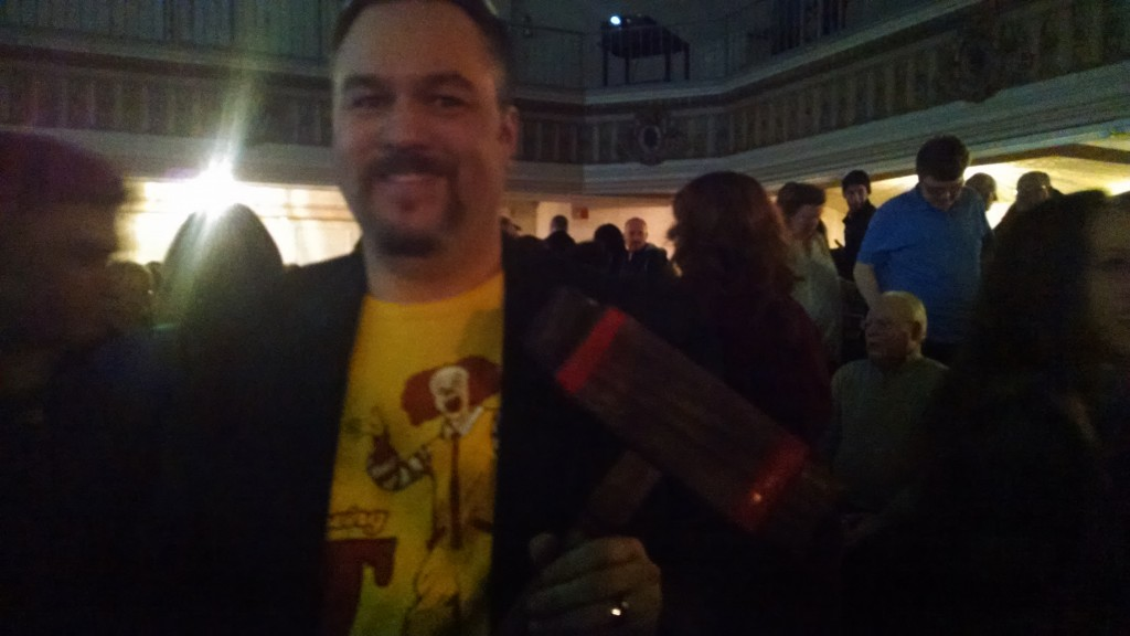 Me & the Roque Mallet prop