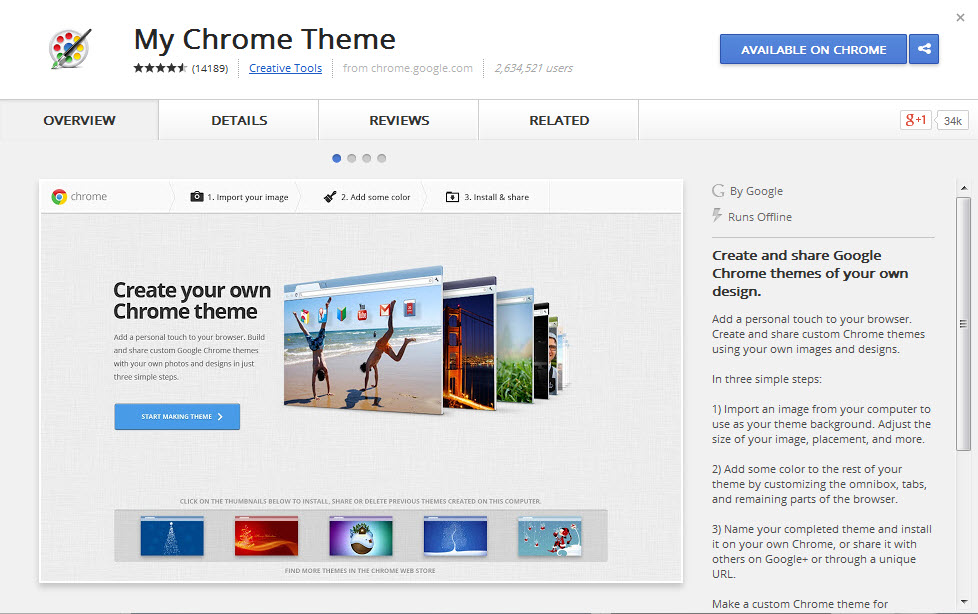 tuesday tech tip easily create your own google chrome theme the