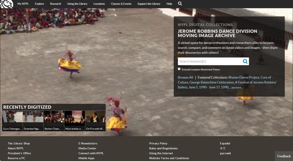 Dance Archive