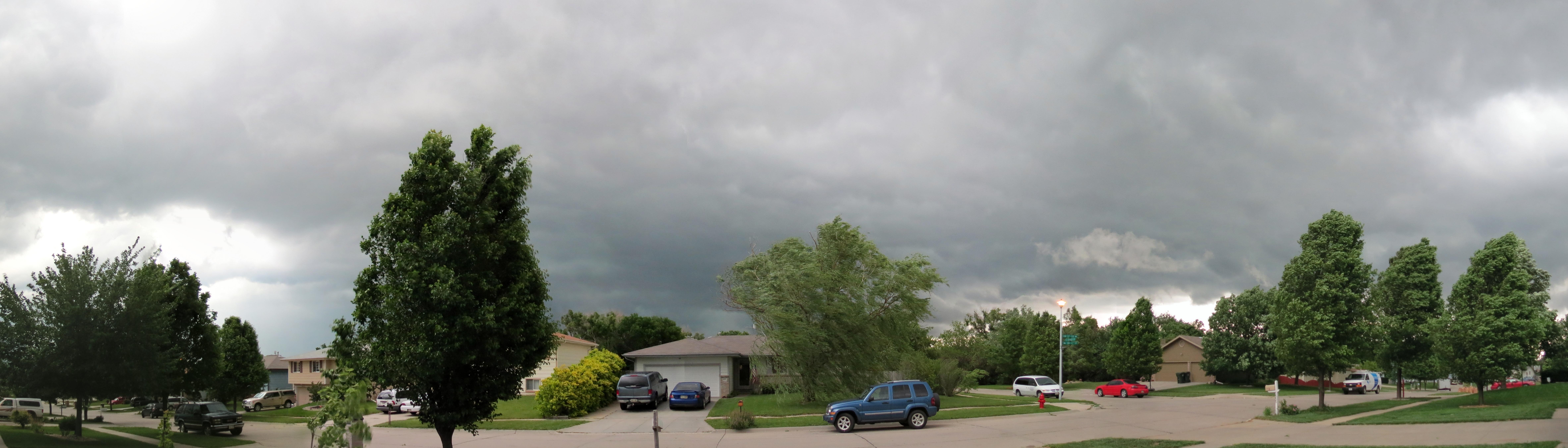 Last night's storm