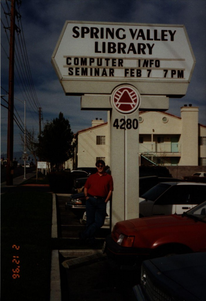 Teaching computers & the Net to the Las Vegas public in 1996