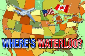 Where's Waterloo