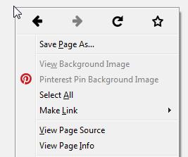 Firefox 32 right click