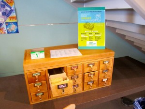 The seed library at the Potrero Hill branch Library