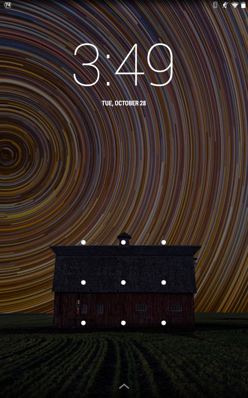 Nexus 7 home screen