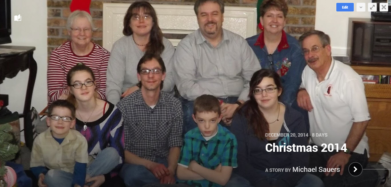 Christmas 2014 Story