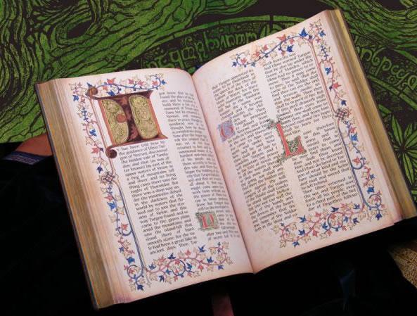 Hand Illuminated Silmarillian