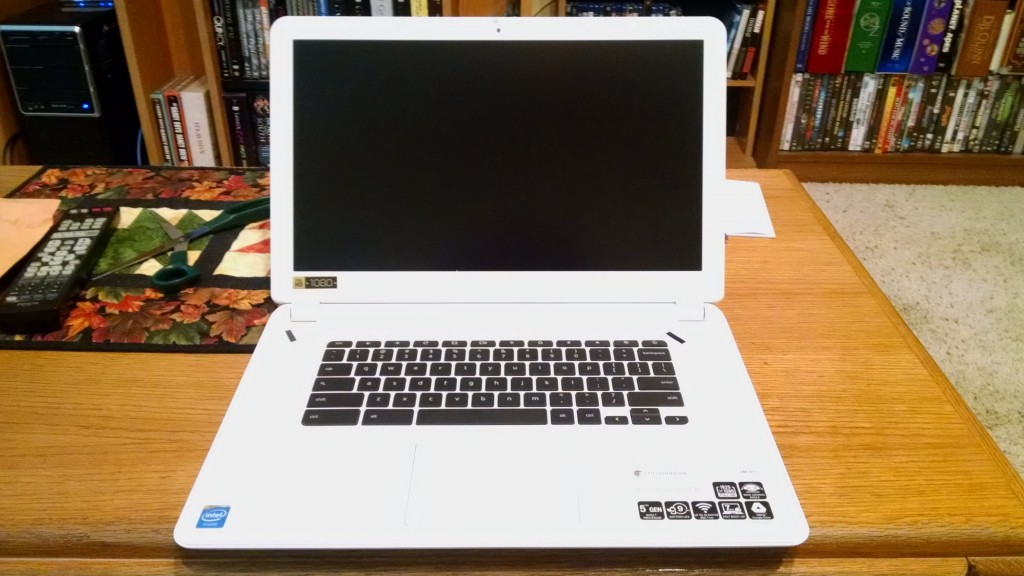 Acer Chromebook 15 (open)