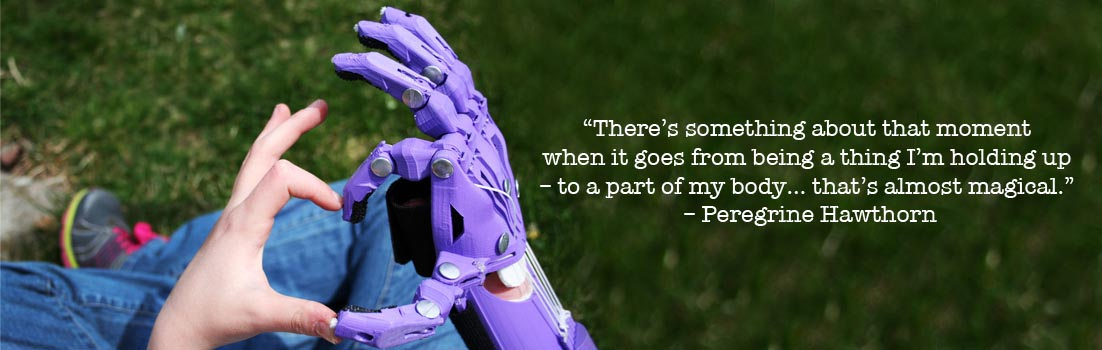 Help create 3D printed hands for children with Enabling the Future