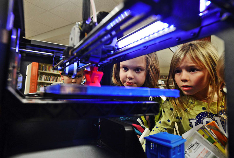 NPR: Libraries Make Space For 3-D Printers; Rules Are Sure To Follow