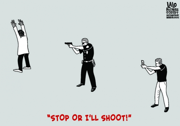 Stop or I'll shoot