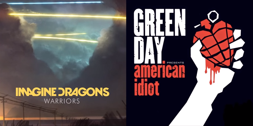 Mashup Monday: Warriors on Holiday (Imagine Dragons vs. Green Day)