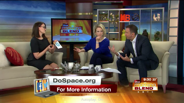 Friday Video: Do Space is on Morning Blend again