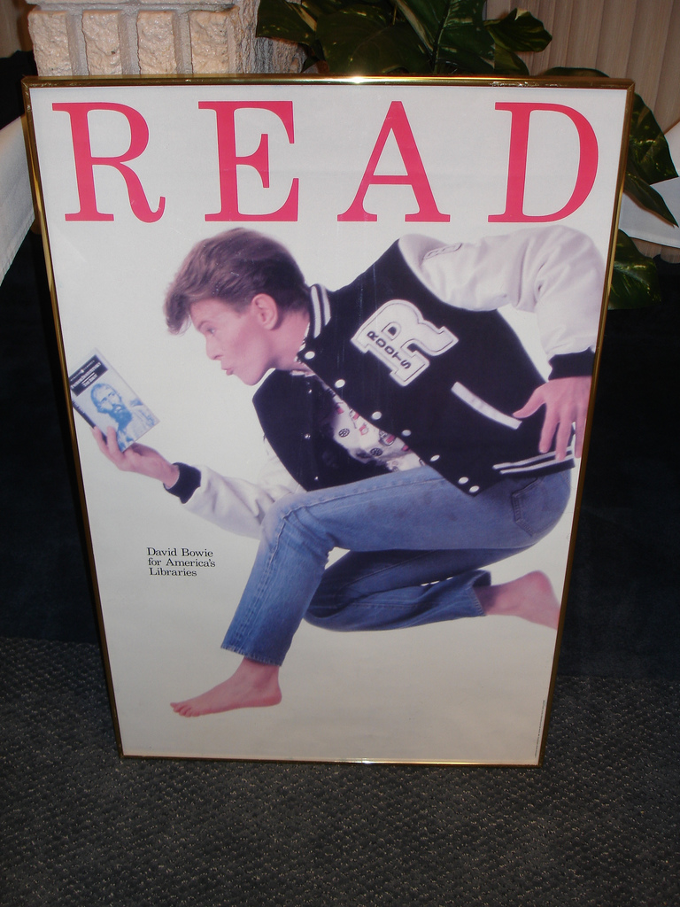 Bowie Read Poster