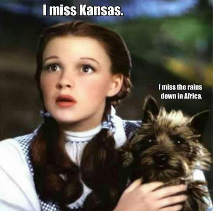 I miss Kansas