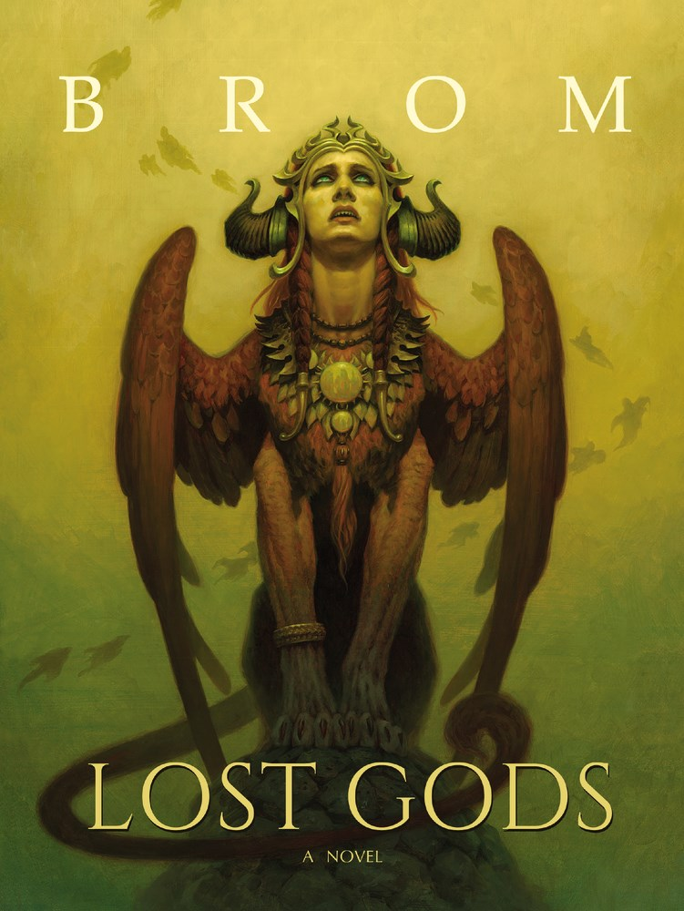 Friday Reads: Lost Gods by Brom