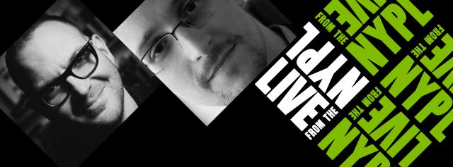Friday Video: Cory Doctorow and Edward Snowden: Dystopia, Apocalypse, And Other Sunny Futures | LIVE From The NYPL