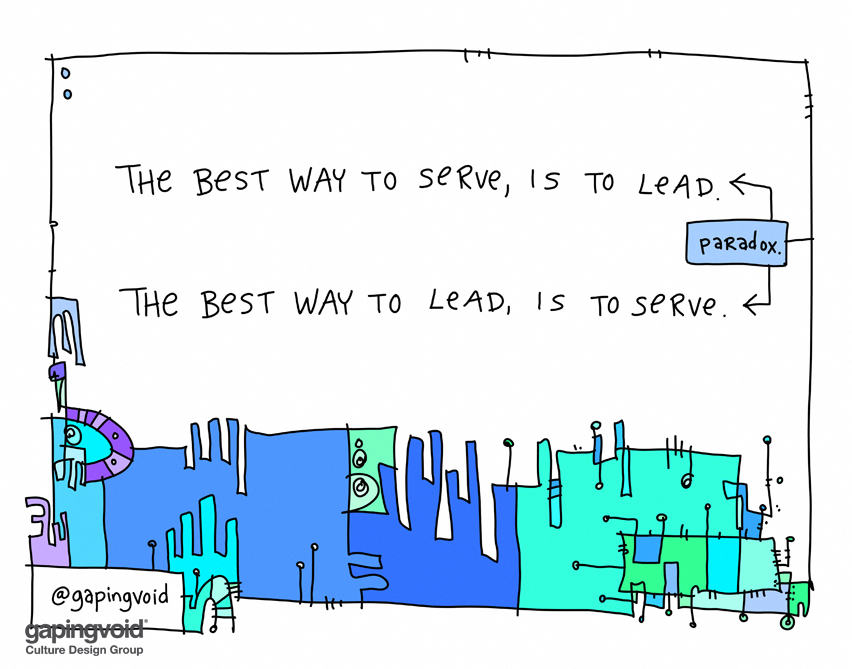 The Lead/Serve Paradox