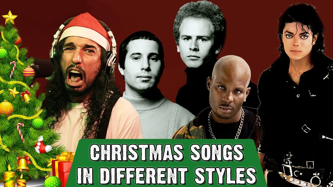 Mashup Monday: Christmas Songs in Different Styles