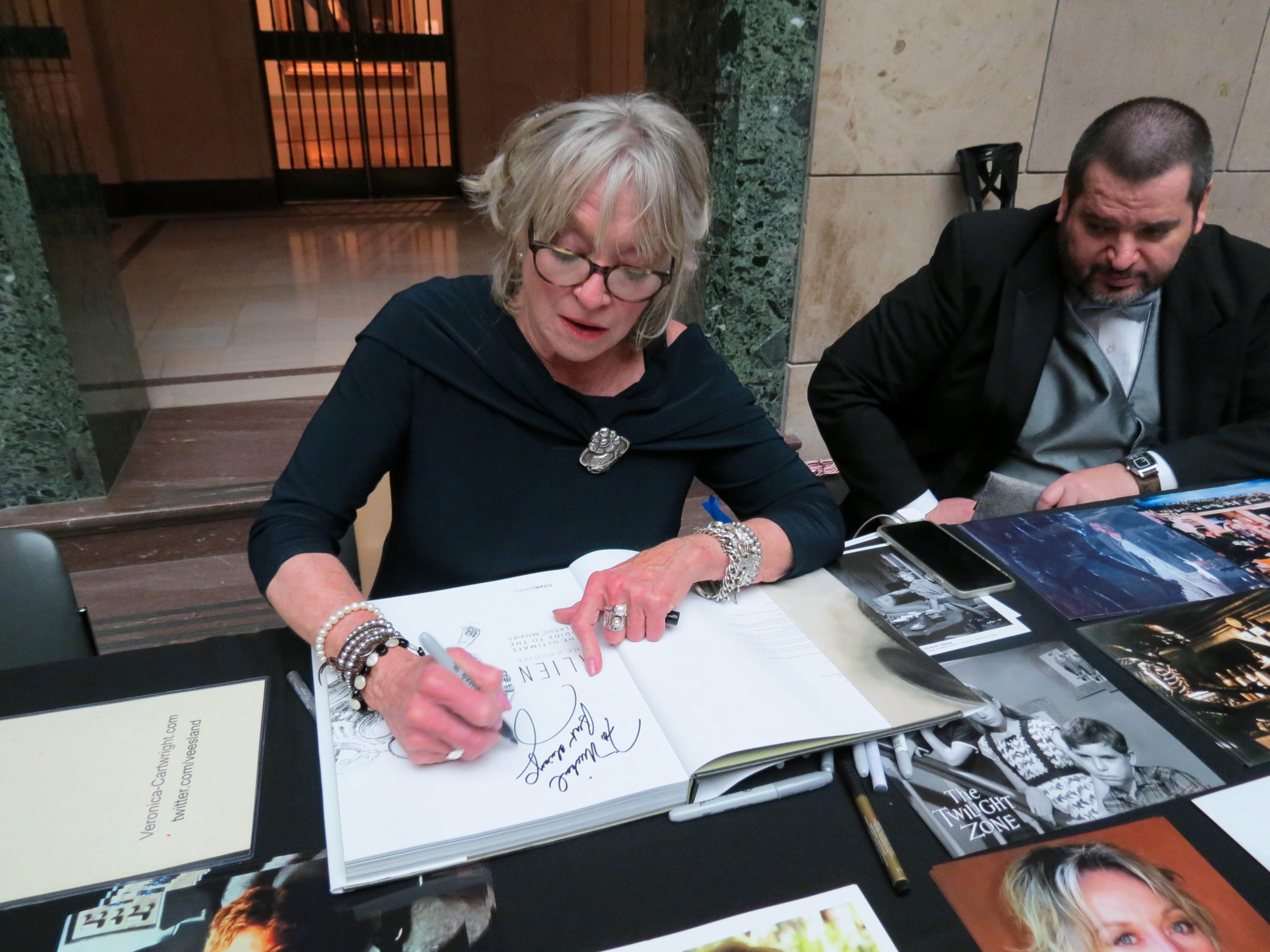 Meeting Veronica Cartwright