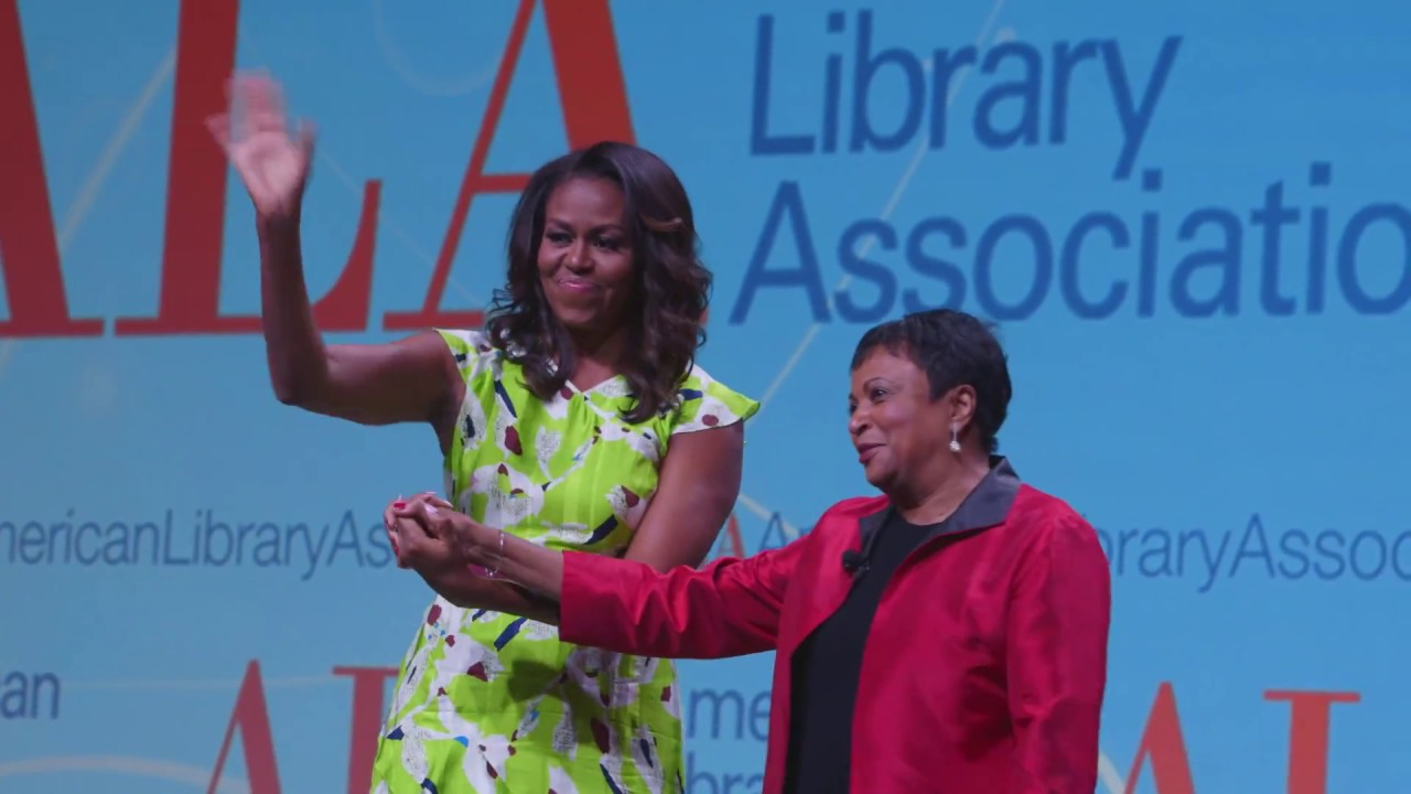 Friday Video: Michelle Obama and Carla Hayden at ALA Annual 2018