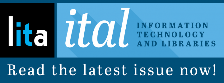 March 2019 ITAL Issue Now Available