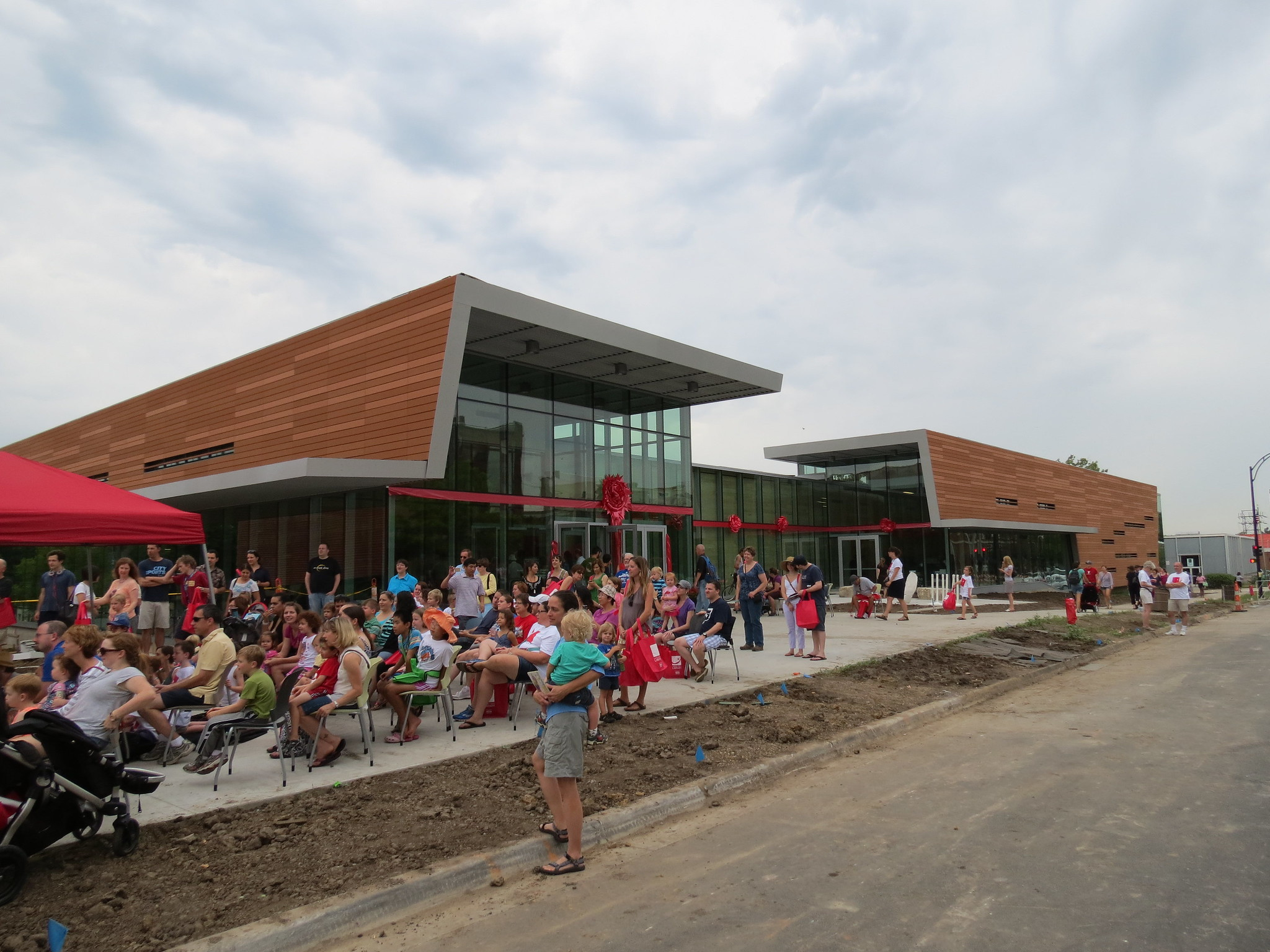Throwback Thursday: Lawrence (KS) Public Library Grand Opening