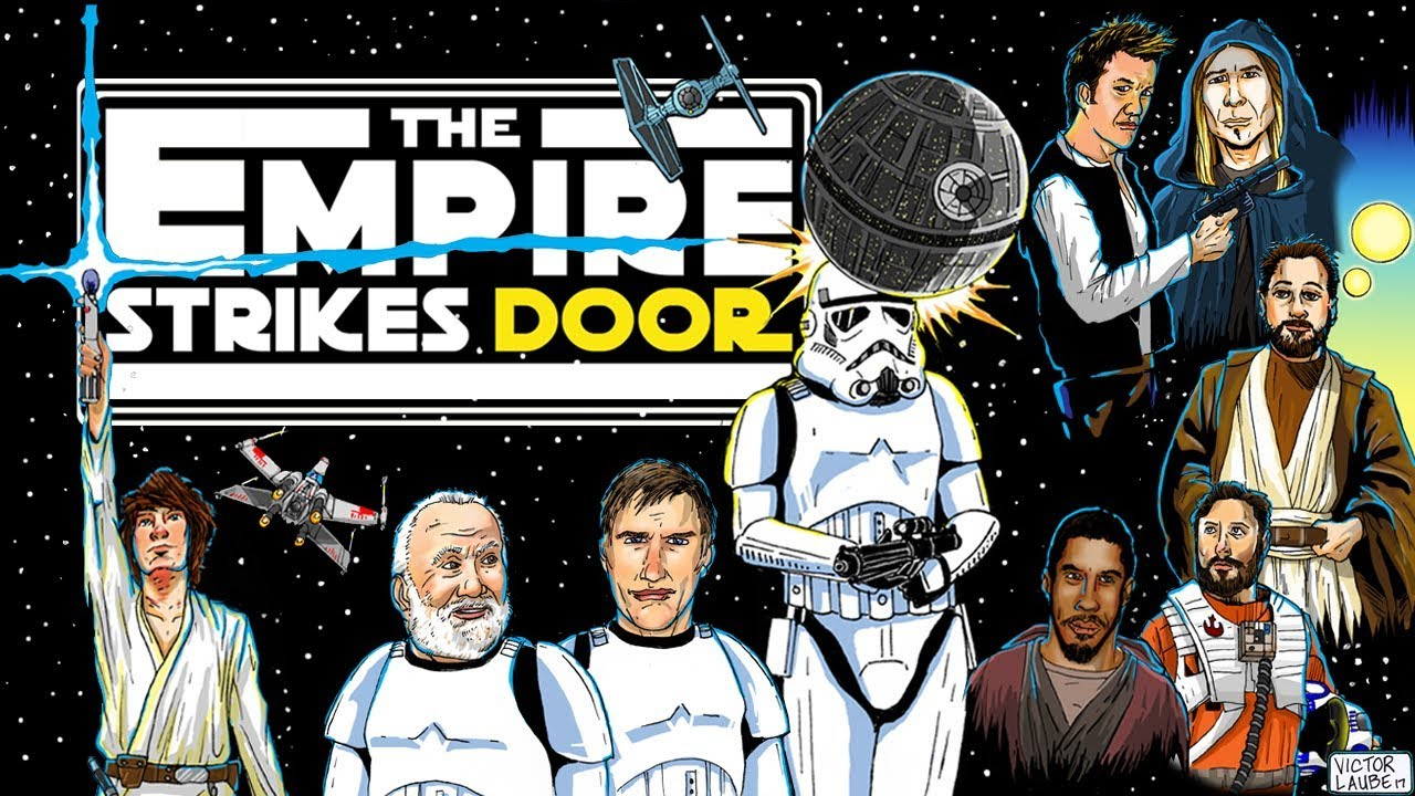 Friday Video: The Empire Strikes Door (A Star Wars Mystery)