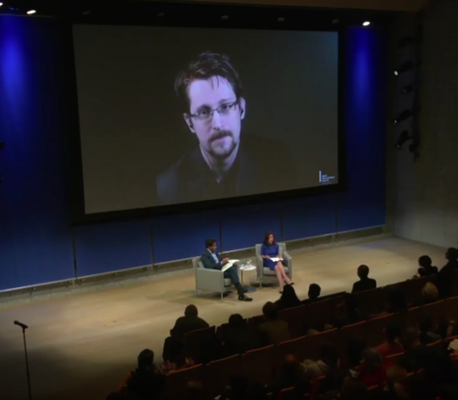Friday Video: Knight First Amendment Institute – A Conversation with Edward Snowden