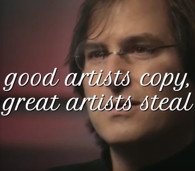 Friday Video: The Creativity Delusion: Geniuses Steal