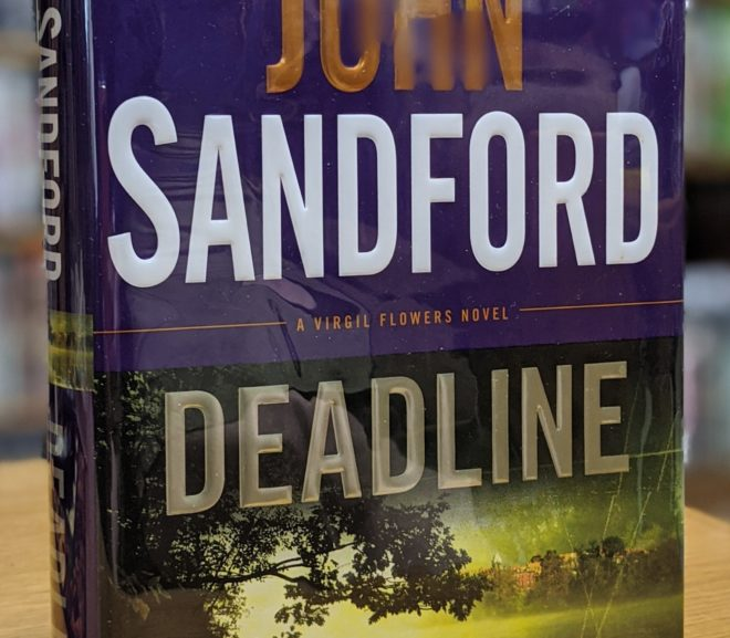 Friday Reads: Deadline by John Sandford