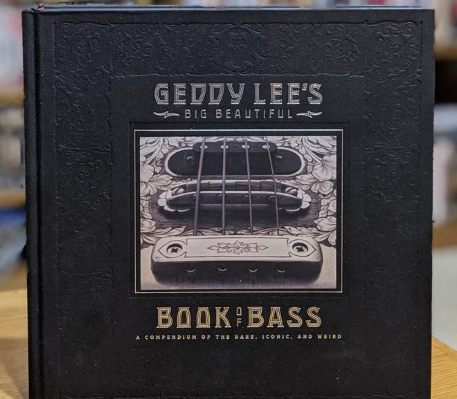 Friday Reads: Geddy Lee's Big Beautiful Book of Bass