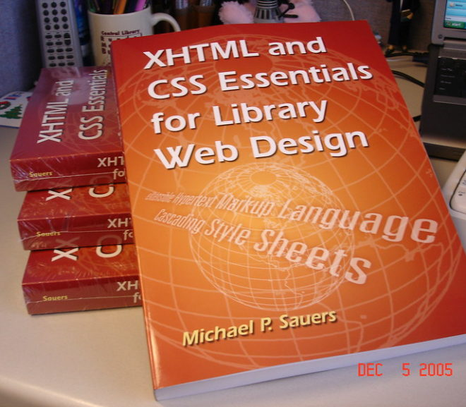 Throwback Thursday: XHTML and CSS Essentials for Library Web Design