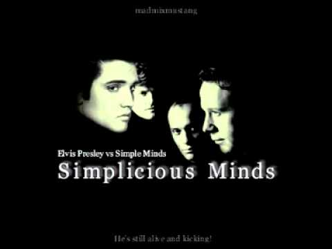 Mashup Monday: Simplicious Minds (Elvis Presley vs. Simple Minds)