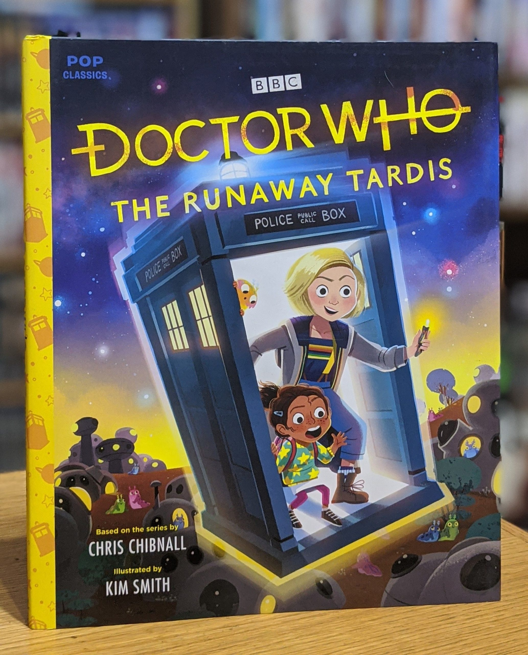 Friday Reads: Doctor Who: The Runaway TARDIS by Chris Chibnall & Kim Smith