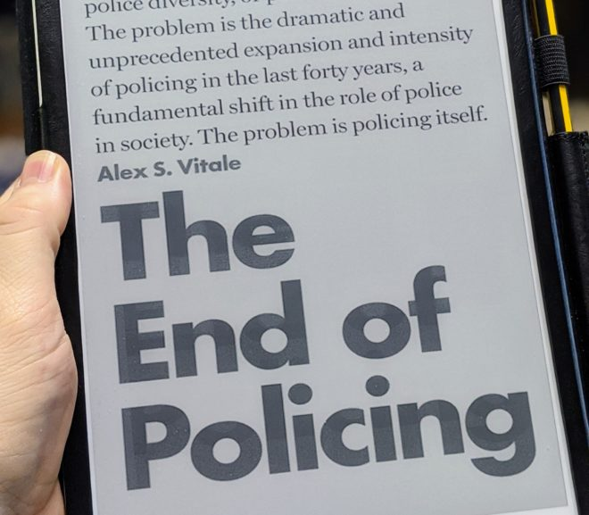 Friday Reads: The End of Policing by Alex S. Vitale