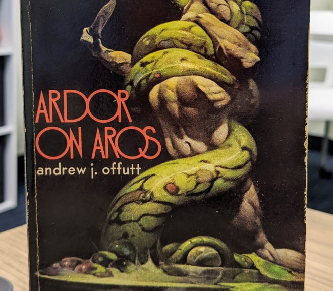 Friday Reads: Ardor on Aros by Andrew J. Offutt